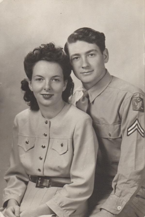 3. 1943 margaret & clyde zettle