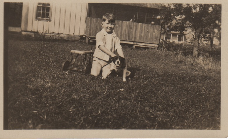 3. clyde & his dog