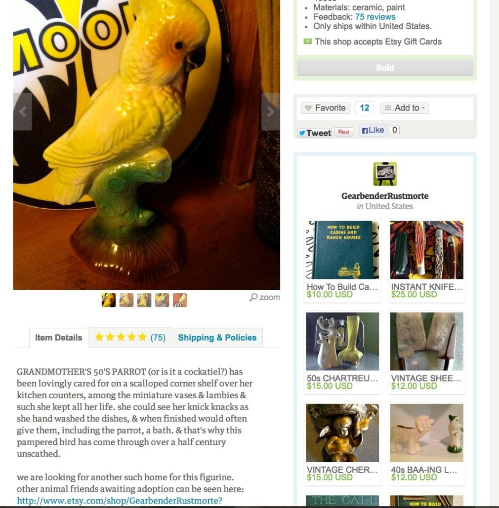 50's parrot