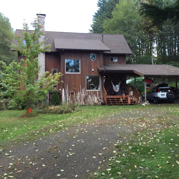 handbuilt house